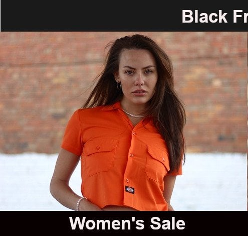 Black friday early doors left womens