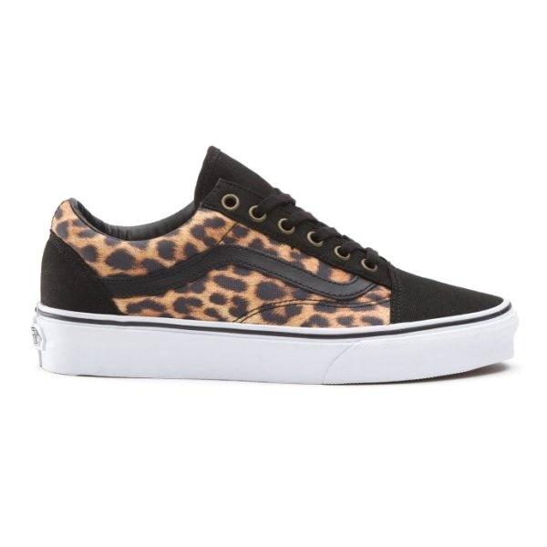 footwear buying new classic Buy Vans Old Skool Pumps in Black Leopard print