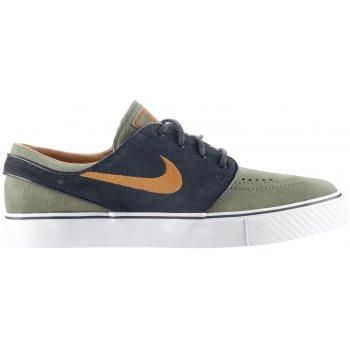 Nike SB Zoom Stefan Janoski Skateboarding Shoes Medium Olive/Urban Orange/Black
