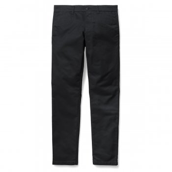 Carhartt WIP Sid Pants Chinos Black Rinsed