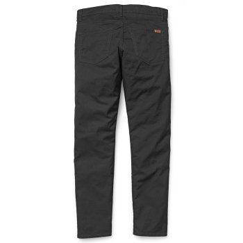 Carhartt WIP Vicious Pants Lamar Stretch Twill Chinos Black Rinsed