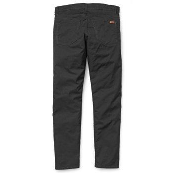 Carhartt WIP Vicious Pants in black Lamar Stretch Twill Cotton