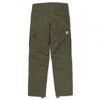 Carhartt Regular Cargo Pant in Cypress Rinsed Ripstop Cotton