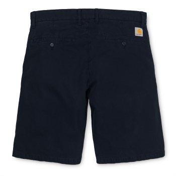 Carhartt Johnson Shorts in Black 7oz Midvale cotton twill