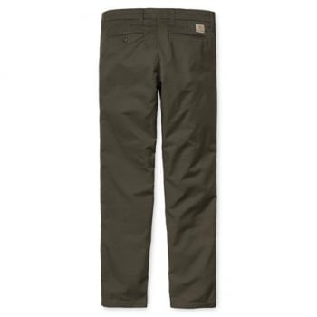 Carhartt Wip Sid Pant Chinos in Cypress Rinsed