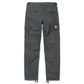 Carhartt Wip Aviation Pants in Blacksmith
