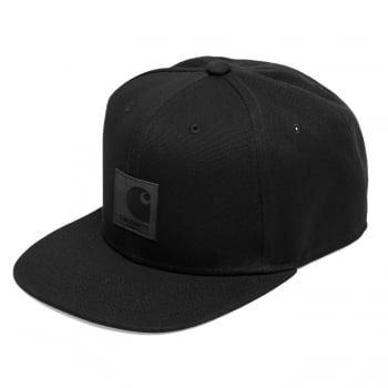 Carhartt Wip Logo Cap Black
