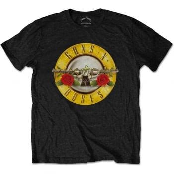 Rock Off Guns N Roses Logo Tshirt Black