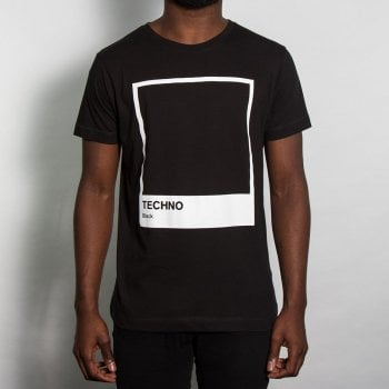 Wasted Heroes Techno Tshirt Black