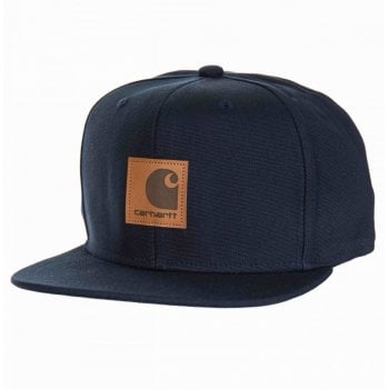 Carhartt Wip Logo Cap Dark Navy