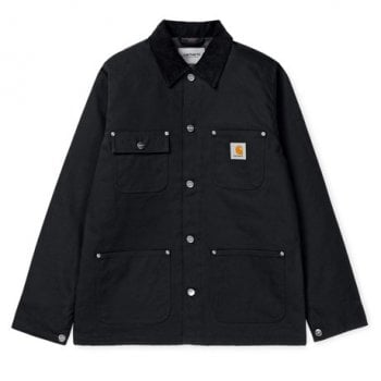 Carhartt WIP Michigan Coat Black Rigid