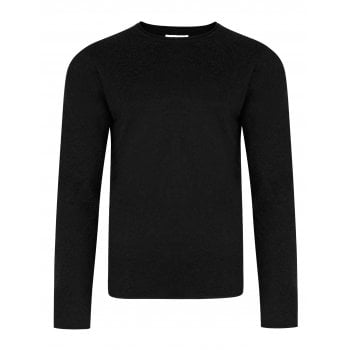 Bellfield Fine Knit Jumper Black
