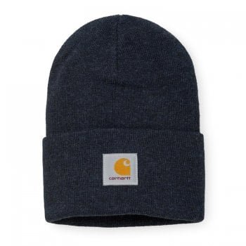 Carhartt Wip Acrylic Watch Hat Dark Navy Heather