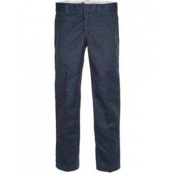 Dickies 873 Slim Straight Work Pant Dark Navy Blue