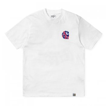 Carhartt Wip S/s Clearwater Tshirt White