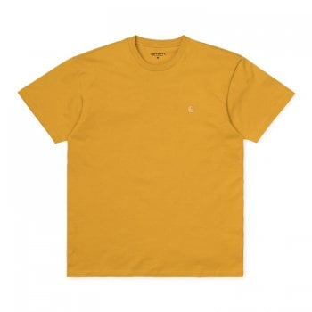 Carhartt Wip S/s Chase Tshirt Colza/gold