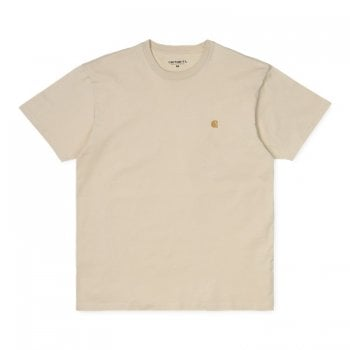 Carhartt Wip S/s Chase Tshirt Flour/gold