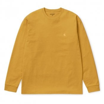 Carhartt Wip L/s Chase Tshirt Colza/gold
