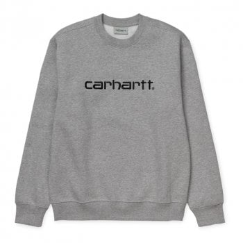 Carhartt Wip Carhartt Sweat Grey Heather/black