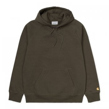 Carhartt Wip Hooded Chase Sweat Cypress/gold