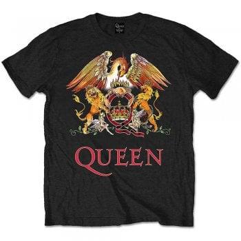 Rock Off Queen Classic Crest Black