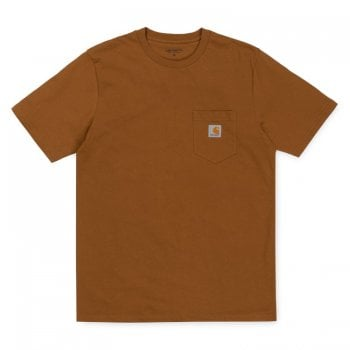 Carhartt Wip S/s Pocket T-shirt Hamilton Brown