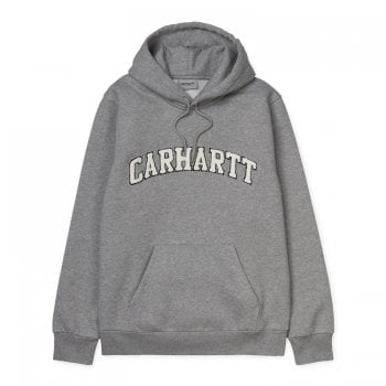 Carhartt Wip Hooded Princeton Sweat Grey Heather