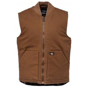 Dickies Lawrenceburg Vest Brown Duck