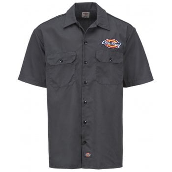 Dickies Clintondale Shirt Charcoal Grey