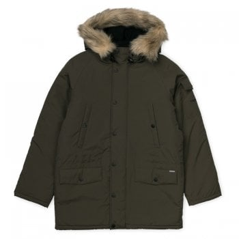 Carhartt Wip Anchorage Parka Cypress/black