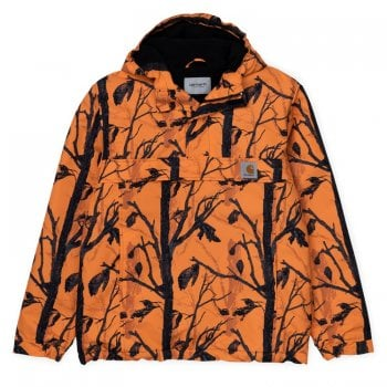 Carhartt Wip Nimbus Pullover Camo Tree Orange