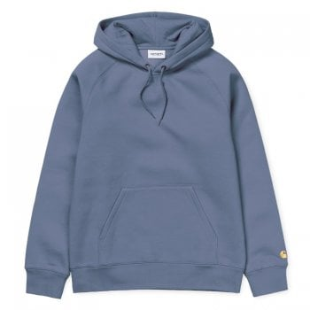 Carhartt Wip Hooded Chase Sweat Mossa/gold