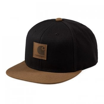 Carhartt Wip Logo Cap Bi-coloured Hamilton Brown