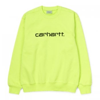 Carhartt Wip Carhartt Sweat Lime/black