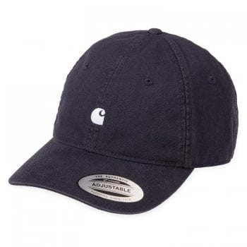 Carhartt Wip Madison Logo Cap Dark Navy/wax