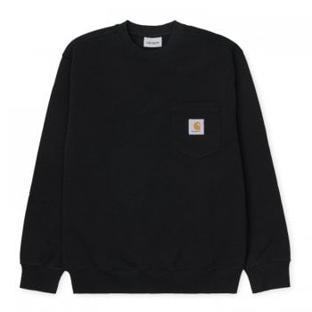Carhartt Wip Pocket Sweat Black