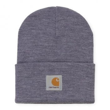 Carhartt Wip Acrylic Watch Hat Decent Purple Heather