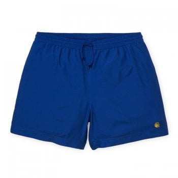 Carhartt Wip Chase Swim Trunks Submarine/gold