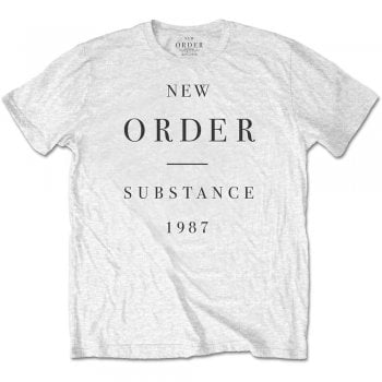 Rock Off Substance New Order White