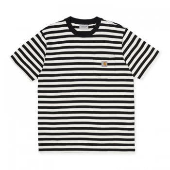 Carhartt Wip S/s Parker Pocket T Shirt Black/wax