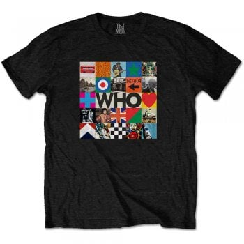 Rock Off The Who 5x5 Blocks Black