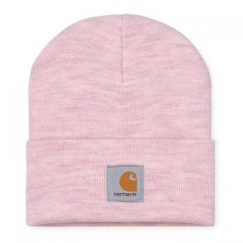 Carhartt Wip Acrylic Watch Hat Frosted Pink Heather