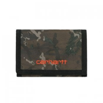 Carhartt Wip Payton Wallet in Camo Combi/safety