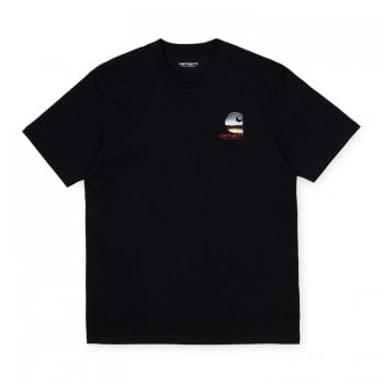 Carhartt Wip short sleeved Dreams T Shirt Black
