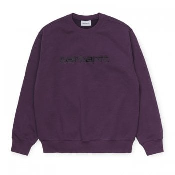 Carhartt Wip Carhartt Sweat Boysenberry/black