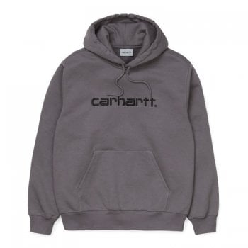 Carhartt Wip Hooded Carhartt Sweat Husky/black