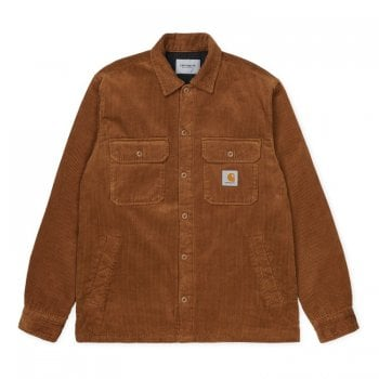 Carhartt Wip Whitsome Shirt Hamilton Brown