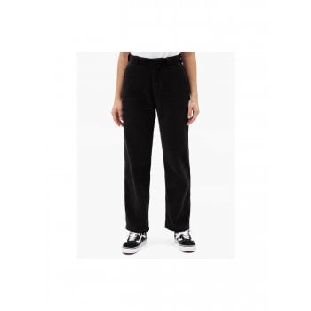 Dickies Elizaville Cord Pant in Black