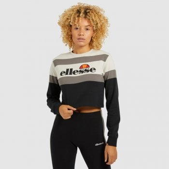 Ellesse Vernes L/s T Shirt Light Grey