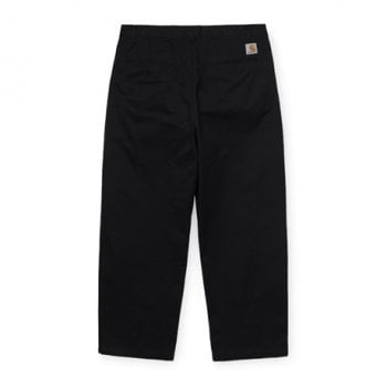 Carhartt Wip Alder Pant Black Stone Washed